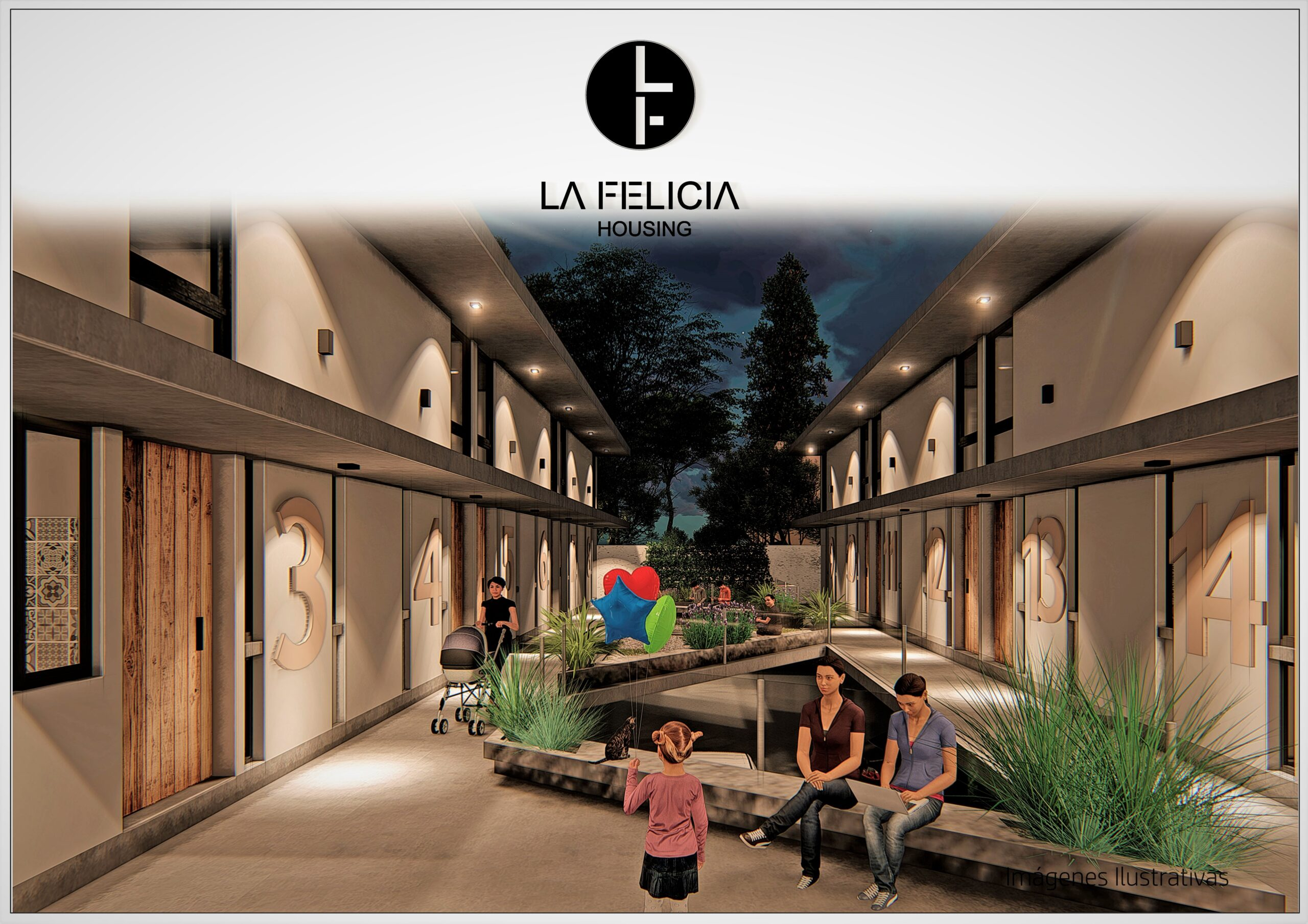 LA FELICIA HOUSING – 17 unidades exclusivas